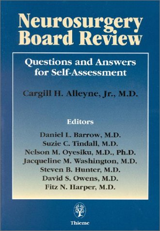 9780865777064: Neurosurgery Board Review: Questions and Answers for Self-Assessment