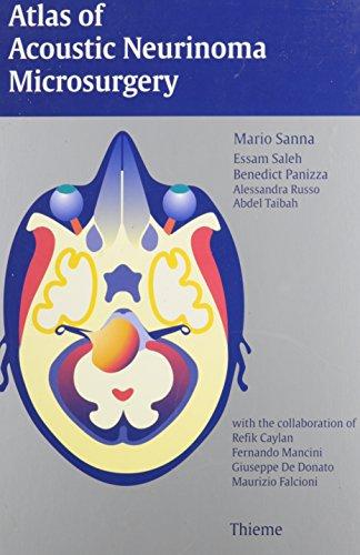 9780865777262: Atlas of Acoustic Neurinoma Microsurgery