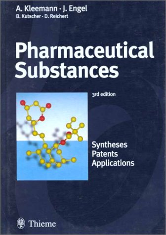 9780865778177: Pharmaceutical Substances: Syntheses, Patents, Applications