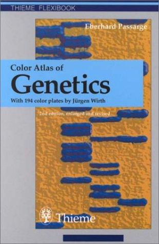 9780865779587: Color Atlas of Genetics (Thieme Flexibook)