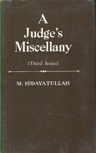 9780865781313: JUDGE'S MISCELLANY, A: 3rd Series