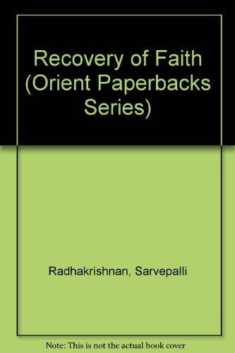 9780865782013: Recovery of Faith (Orient Paperbacks Series)