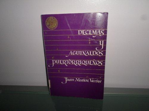 9780865813847: Décimas y aguinaldos puertorriqueños (Spanish Edition)