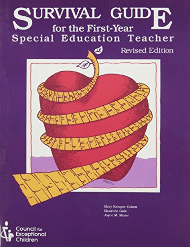 9780865862562: Survival Guide for the First-Year Special Education Teacher