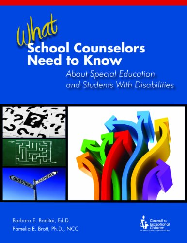9780865864610: What School Counselors Need to Know About Special Education and Students With Disabilities