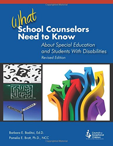 9780865865013: What School Counselors Need to Know About Special Education and Students with Disabilities (1st ed. rev.)