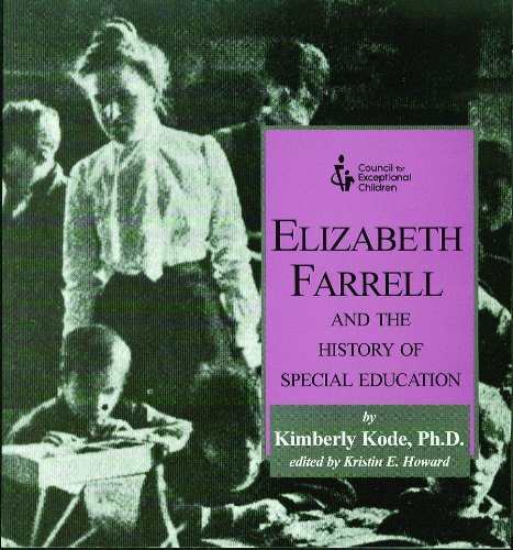 9780865869684: Elizabeth Farrell and the History of Special Education