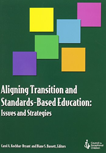 9780865869707: Aligning Transition and Standards-Based Education