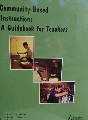 9780865869837: Community-Based Instruction: A Guidebook for Teachers