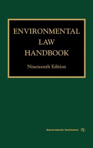9780865870246: Environmental Law Handbook