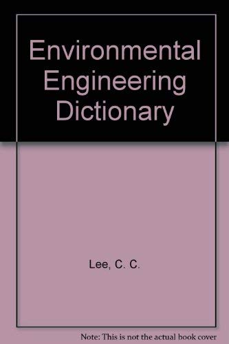 9780865872981: Environmental Engineering Dictionary