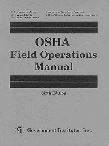 9780865873803: OSHA Field Operations Manual