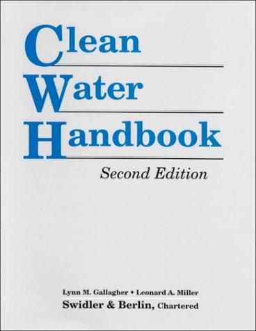 9780865875128: Clean Water Handbook