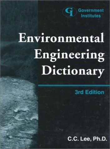 9780865876200: Environmental Engineering Dictionary