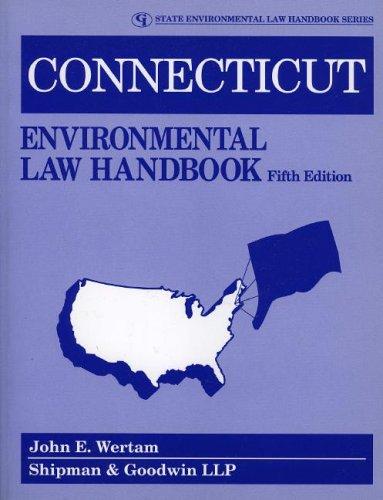 9780865877146: Connecticut Environmental Law Handbook (State Environmental Law Handbooks)