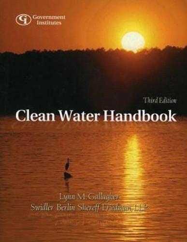 9780865878464: Clean Water Handbook