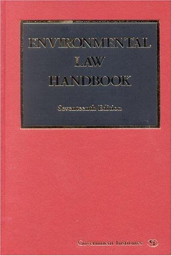 9780865879553: Environmental Law Handbook