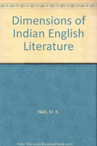 9780865902305: Dimensions of Indian English Literature
