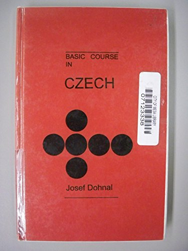 9780865908390: Basic Course in Czech