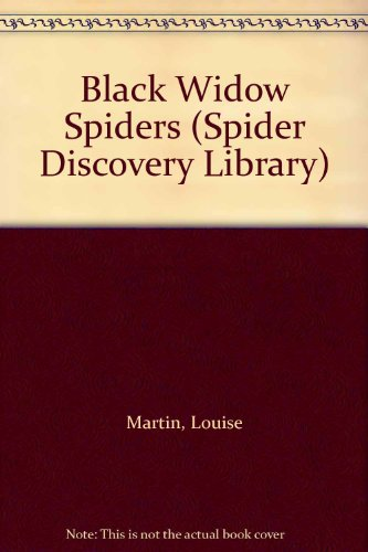 9780865929654: Black Widow Spiders (Spider Discovery Library)