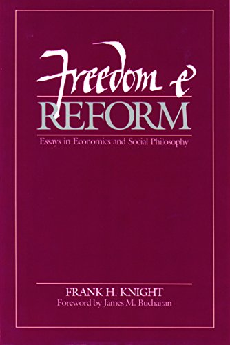9780865970052: Freedom and Reform
