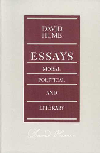 9780865970441: Essays: Moral, Political and Literary