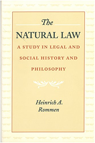 9780865971608: The Natural Law: A Study in Legal and Social History and Philosophy