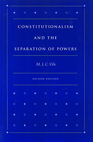 9780865971752: Constitutionalism and the Separation of Powers