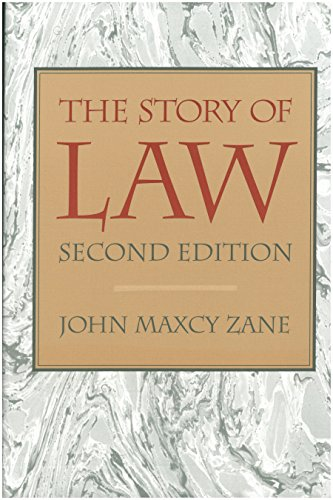 9780865971912: The Story of Law