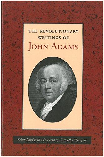 9780865972858: Revolutionary Writings of John Adams, The