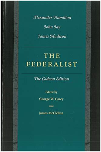 9780865972896: The Federalist