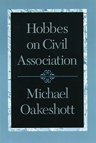 9780865972919: Hobbes on Civil Association