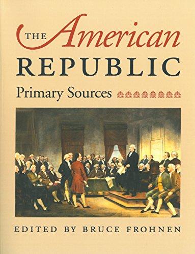 9780865973336: The American Republic