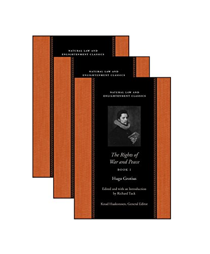 9780865974364: The Rights Of War And Peace: Three Volume Set (Natural Law and Enlightenment Classics) (Bks. 1-3)