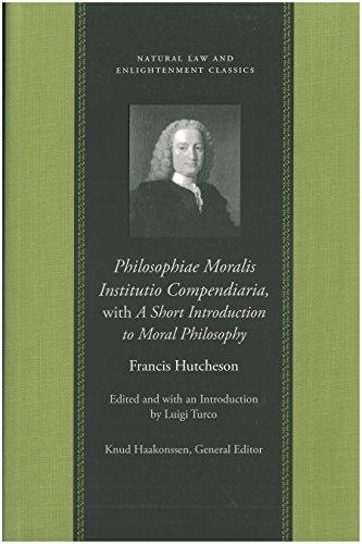 9780865974531: Philosophiae Moralis Institutio Compendiaria (Natural Law Paper)