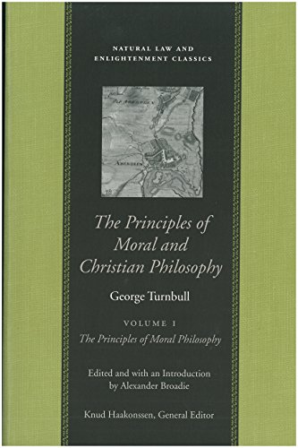 Principles of Moral Christian Philosophy, in 2 Volumes (Hardback): George Turnbull