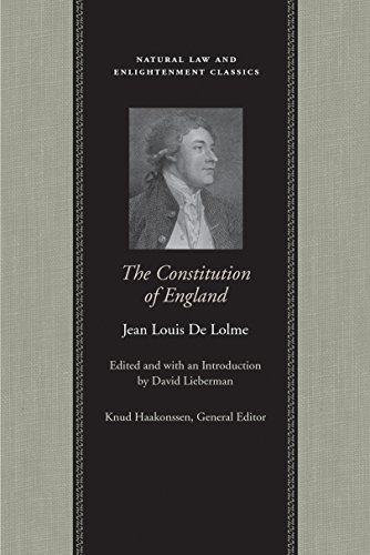 9780865974647: The Constitution of England (Natural Law Cloth)