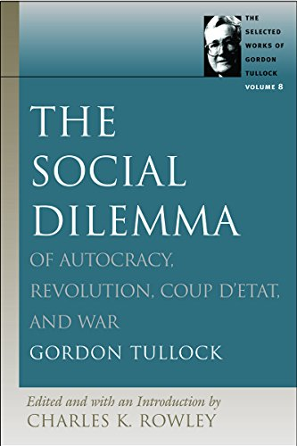 9780865975385: SOCIAL DILEMMA, THE (Selected Works of Gordon Tullock, v. 8)