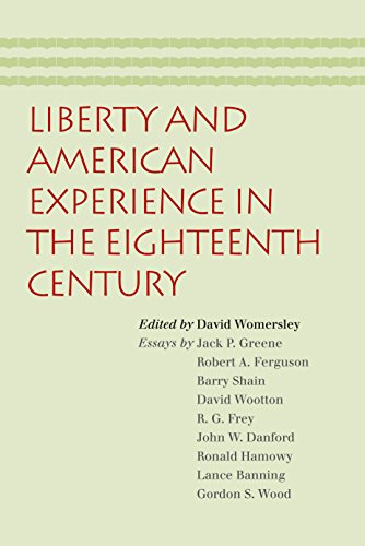 9780865976290: Liberty and American Experience in the Eighteenth Century