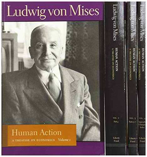 9780865976313: Human Action: A Treatise on Economics (4 Volume Set)