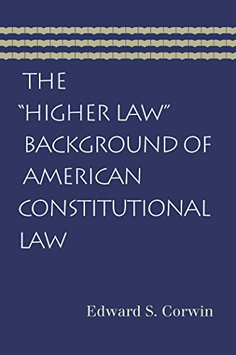 9780865976955: The Higher Law Background of American Constitutional Law