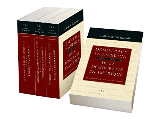 9780865977242: Democracy in America: In Four Volumes