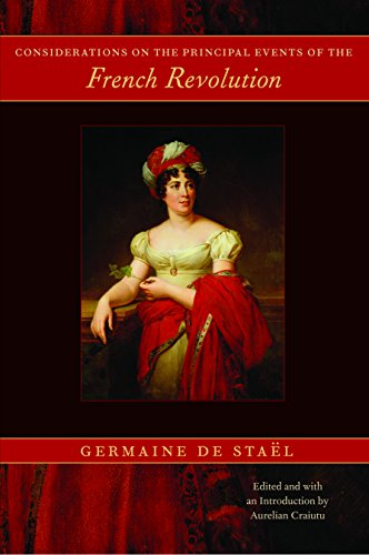 Considerations on the Principal Events of the French Revolution: Stael, G.