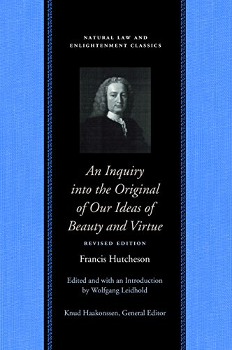 9780865977747: An Inquiry into the Original of Our Ideas of Beauty and Virtue (Natural Law Paper)