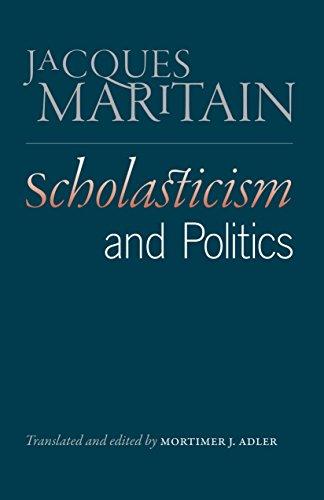 9780865978270: Scholasticism and Politics