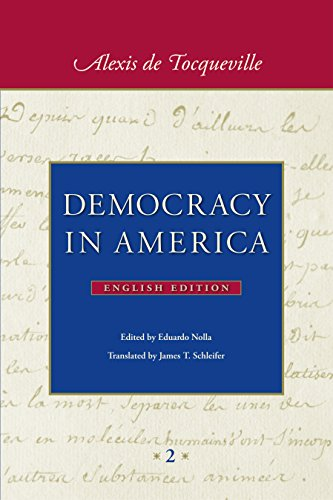 9780865978409: Democracy in America: In Two Volumes