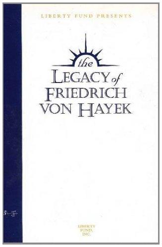 9780865979604: The Legacy of Friedrich von Hayek Audio Tapes: Seven-Volume Set (Audio Tapes 7 Vol Set (USA))
