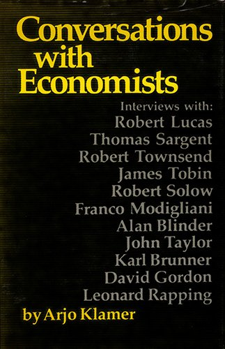 9780865981461: The New Classical Macroeconomics: Conversations With New Classical Economists and Their Opponents