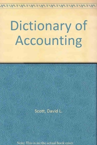 9780865981645: Dictionary of Accounting (A Helix book)
