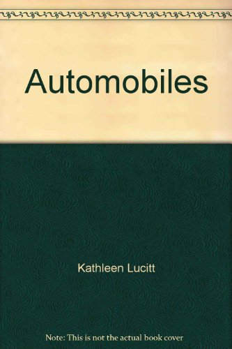 9780866012713: Automobiles (Competency achievement packet)